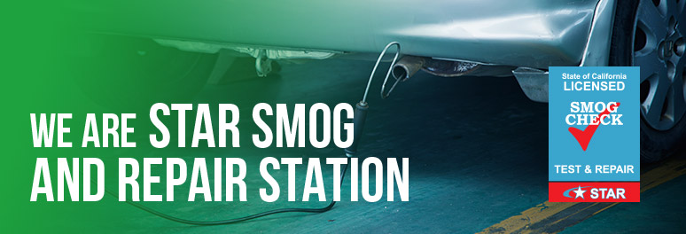WE are Star Smog and Repair Station